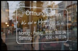 Öffnungszeiten Kassel