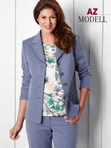 Tolle AZ-Modell Kombination in Jeans blau bei Bernhardt Moden