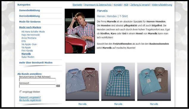 Hemden von Marvelis im Onlineshop kaufen