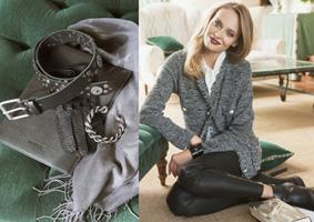 Hübsche Damen Strickjacke von Rabe Moden online bei Bernhardt Moden