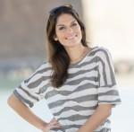 Toller Pullover mit asymetrischen Streifen in leichter Qualität von Rabe Moden